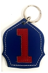 #1 Badge Keychain N-R