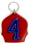 #4 Badge Keychain R-N