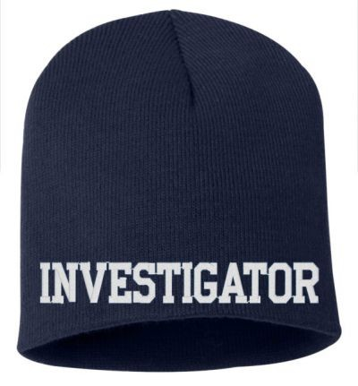 Investigator - USA Made 8*5 inch Knit Beanie