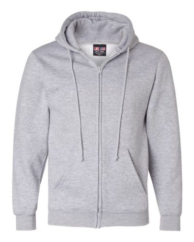 Elgin Local 439 - Bayside USA Made Full-Zip Hooded Sweatshirt