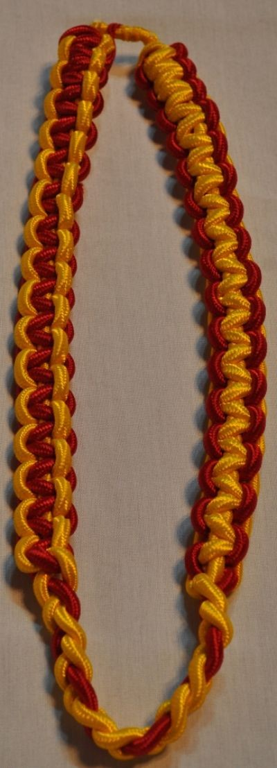 Gold-Red Shoulder Cord