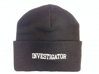 Investigator - USA Made 12 inch Knit Beanie with Cuff