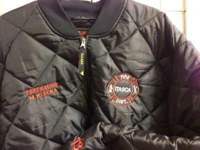 Itasca Fire Protection District - Jacket - The Bravest