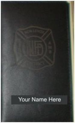 Leather Calendar Cover - IAFF Laser Burnt - General
