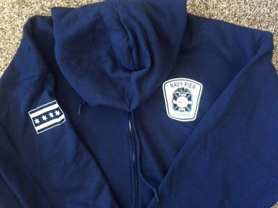 Navy Pier Fire-EMS - Jerzee Hooded Sweatshirt