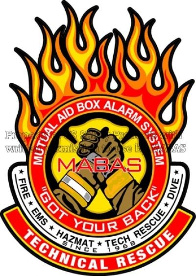 MABAS Decals - Technical Rescue Rocker