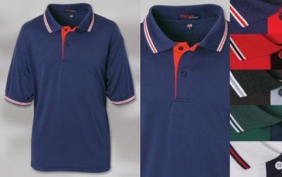 Grouped Union Locals - Napa Fashion Moisture Management Polo - Mens