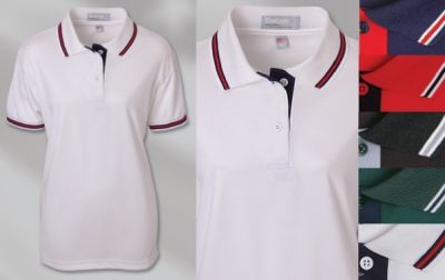 Grouped Union Locals - Napa Fashion Moisture Management Polo - Ladies